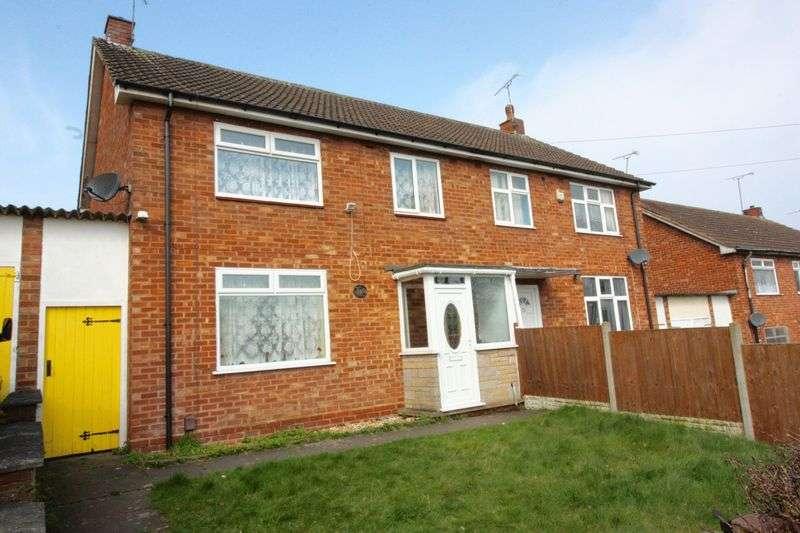 3 Bedrooms Semi Detached House for sale in Jasmine Grove, Stoke Aldermoor
