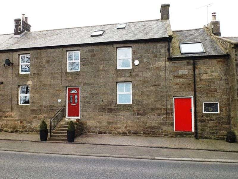 3 Bedrooms Terraced House for sale in Sea View, Longframlington - Three Bedroom Terrace House