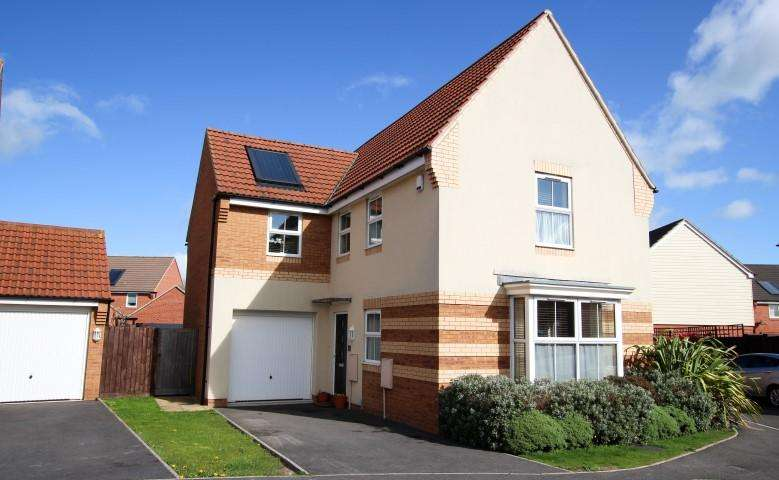 4 Bedrooms Detached House for sale in Imperial Way, Bridgwater TA6