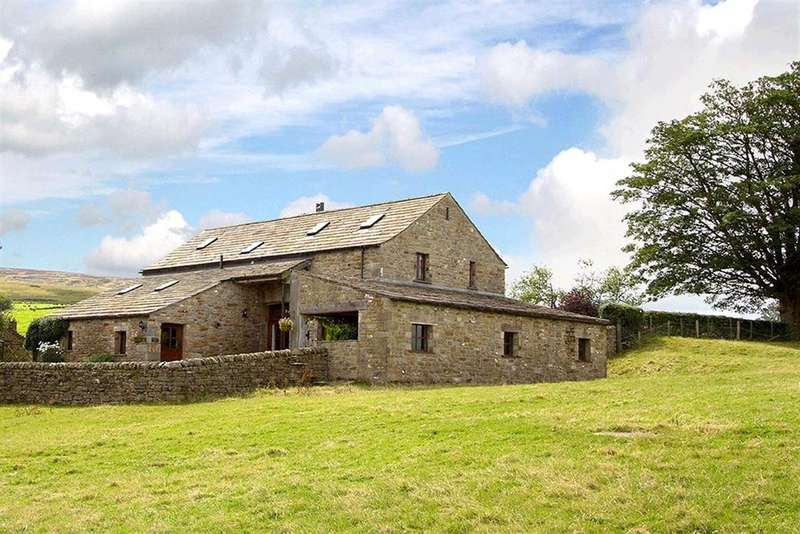 5 Bedrooms Barn Conversion Character Property for sale in Crow Trees Barn, Mewith, Bentham, North Yorkshire