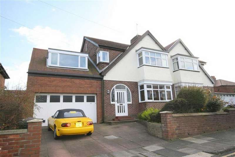 4 Bedrooms Semi Detached House for sale in Parkside, Tynemouth, Tyne Wear, NE30