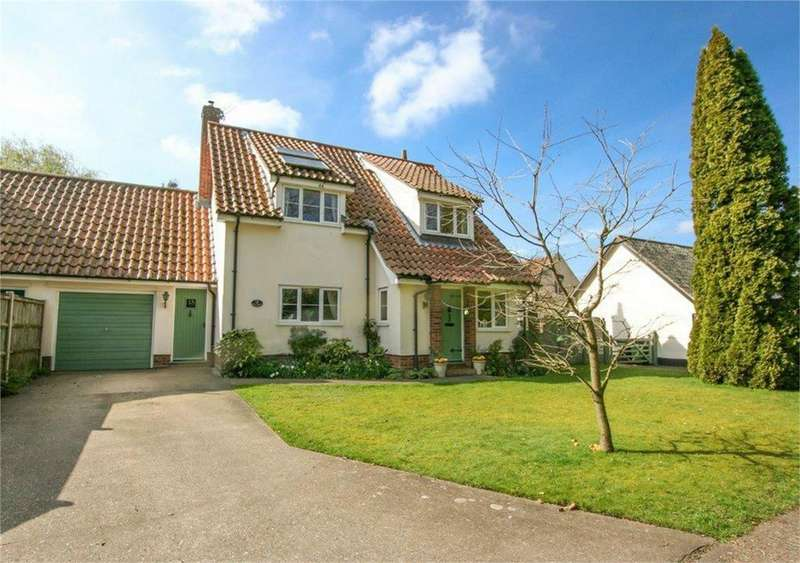 4 Bedrooms Semi Detached House for sale in Green Lane, Quidenham, Norfolk