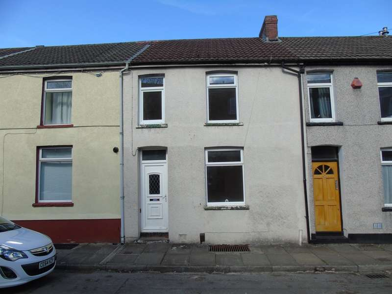 3 Bedrooms Terraced House for sale in Cliff Terrace, Treforest, Pontypridd