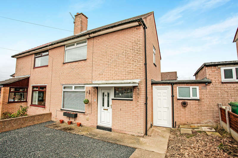 2 Bedrooms Semi Detached House for sale in Sunnymeade, Carlisle, CA2