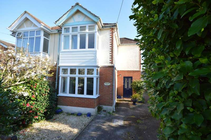 4 Bedrooms Semi Detached House for sale in Christchurch Road, New Milton