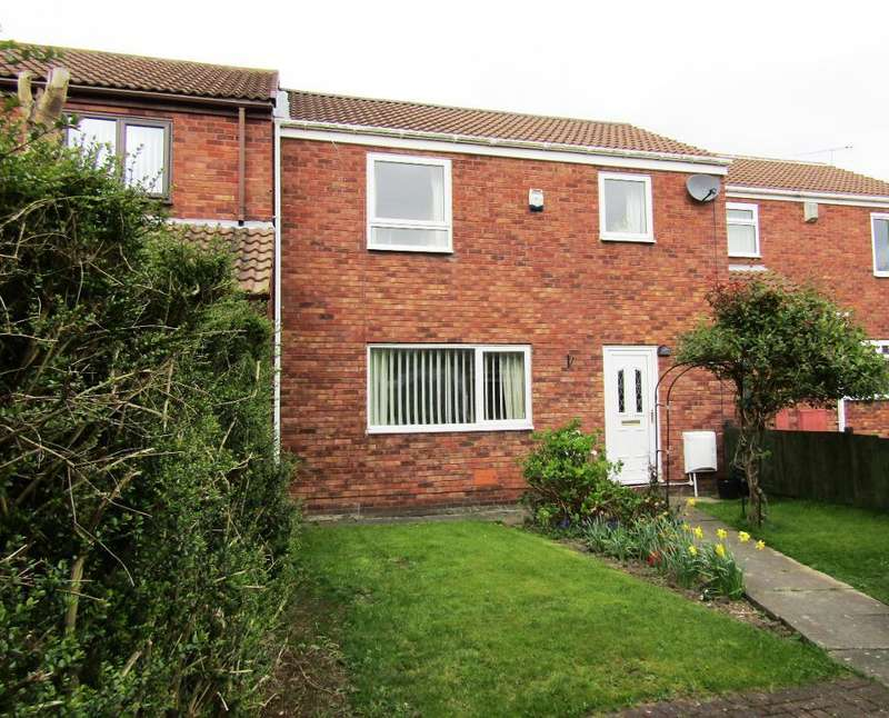 3 Bedrooms Terraced House for sale in Abbey Close, Washington Village, Washington, Tyne Wear, NE38 7NR