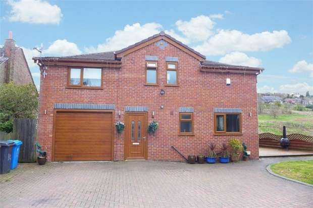 4 Bedrooms Detached House for sale in Ashlea Grove, Grotton, Oldham, Lancashire