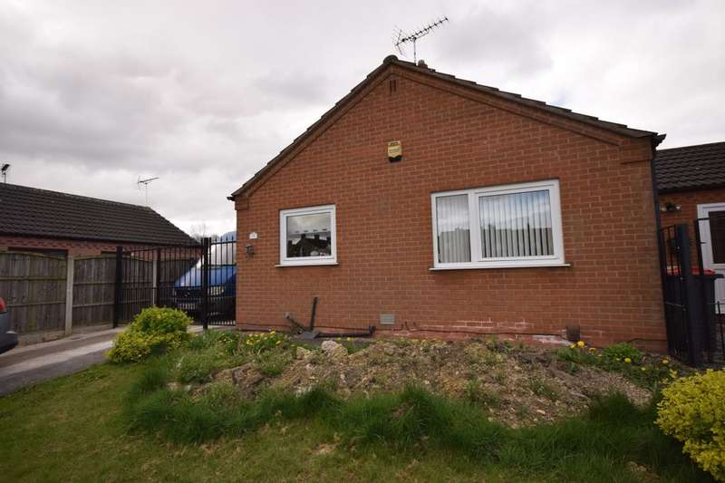2 Bedrooms Detached Bungalow for sale in Fackley Way, Stanton Hill, Sutton-In-Ashfield, NG17