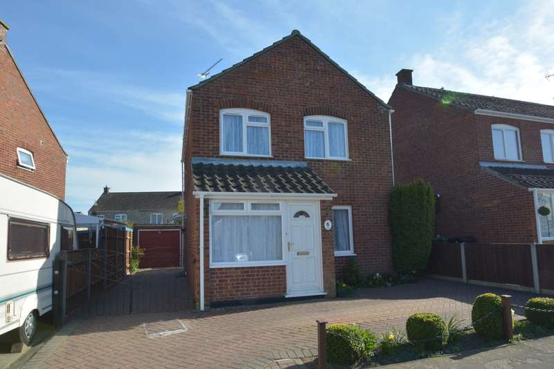 3 Bedrooms Detached House for sale in Weavers Croft, Harleston