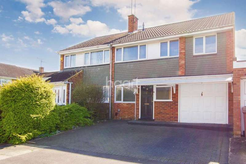 4 Bedrooms Semi Detached House for sale in L and D Borders, Luton