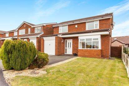 4 Bedrooms Detached House for sale in Broom Way, Westhoughton, Bolton, Greater Manchester, BL5