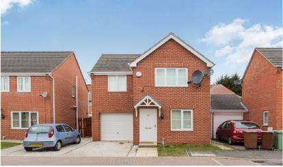 3 Bedrooms Detached House for sale in Oakford Close, Aspley, Nottingham, Nottinghamshire