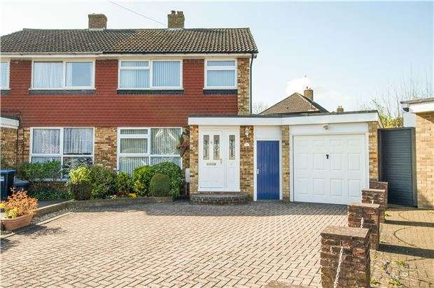 3 Bedrooms Semi Detached House for sale in Cromwell Grove, CATERHAM, Surrey, CR3 5JH