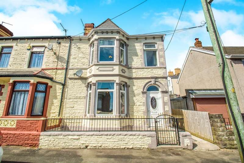 4 Bedrooms End Of Terrace House for sale in Pontypridd Street, Barry