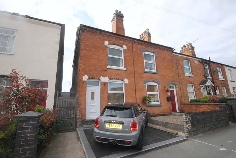 3 Bedrooms End Of Terrace House for sale in Factory Road, Hinckley