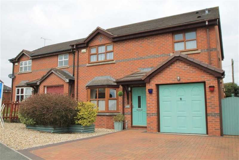 4 Bedrooms Detached House for sale in Stablegates, Johnstown, Wrexham