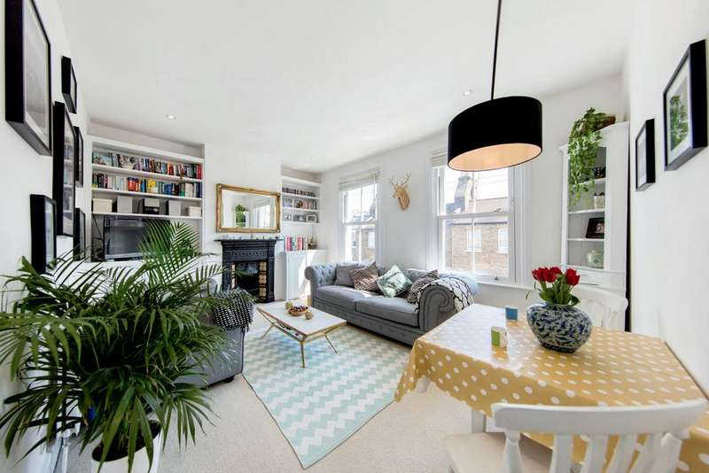 2 Bedrooms Flat for sale in Leverson Street, SW16