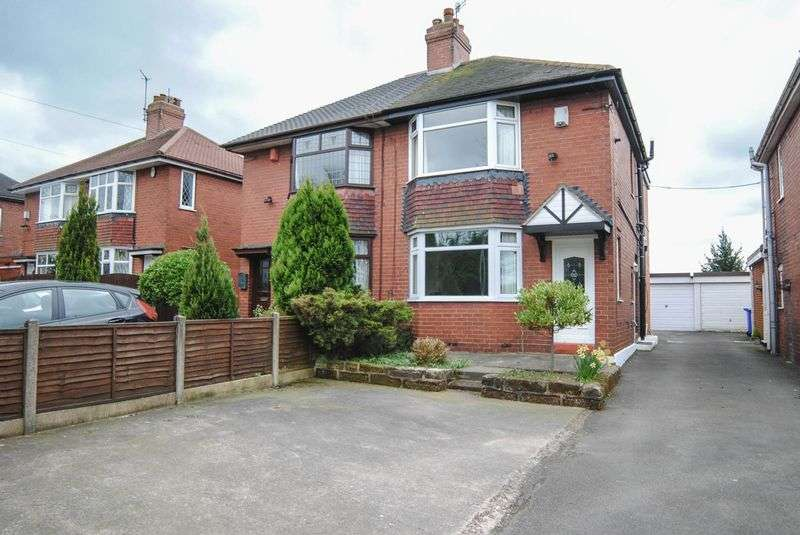 3 Bedrooms Semi Detached House for sale in Weston Coyney Road, Weston Coyney, Stoke-On-Trent, ST3 6EU