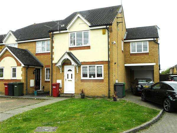 4 Bedrooms End Of Terrace House for sale in Trumper Way, Slough