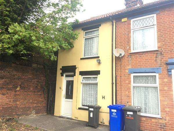 2 Bedrooms End Of Terrace House for sale in Ashley Street, Ipswich