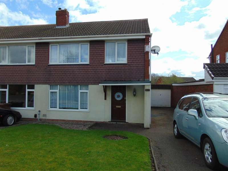 3 Bedrooms Semi Detached House for sale in Greenfields Road, Shelfield, Walsall