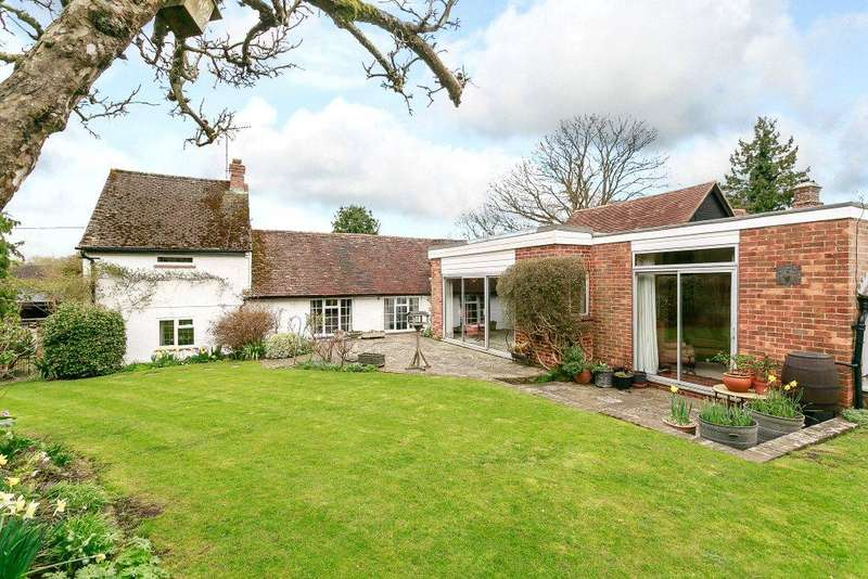 4 Bedrooms Detached House for sale in Wanborough, Guildford, Surrey