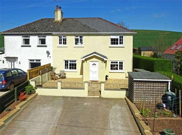 4 Bedrooms Semi Detached House for sale in Silver Street, Thorverton, EXETER, Devon