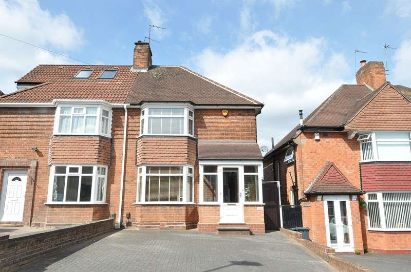 3 Bedrooms Semi Detached House for sale in Newlands Road, Stirchley, Birmingham
