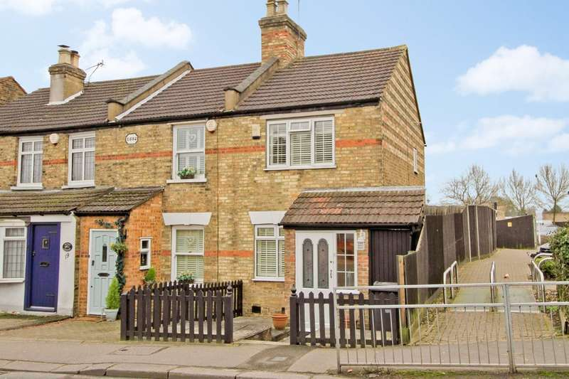 2 Bedrooms End Of Terrace House for sale in Camden Row, Cuckoo Hill, Pinner