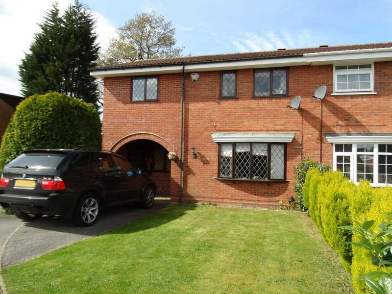 4 Bedrooms Semi Detached House for sale in Hollings Grove, Solihull