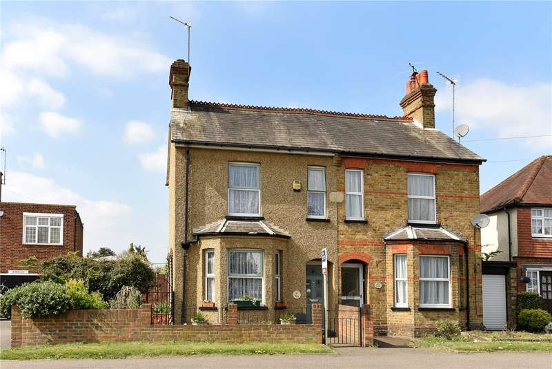 2 Bedrooms Semi Detached House for sale in Bury Street, Ruislip, Middlesex, HA4