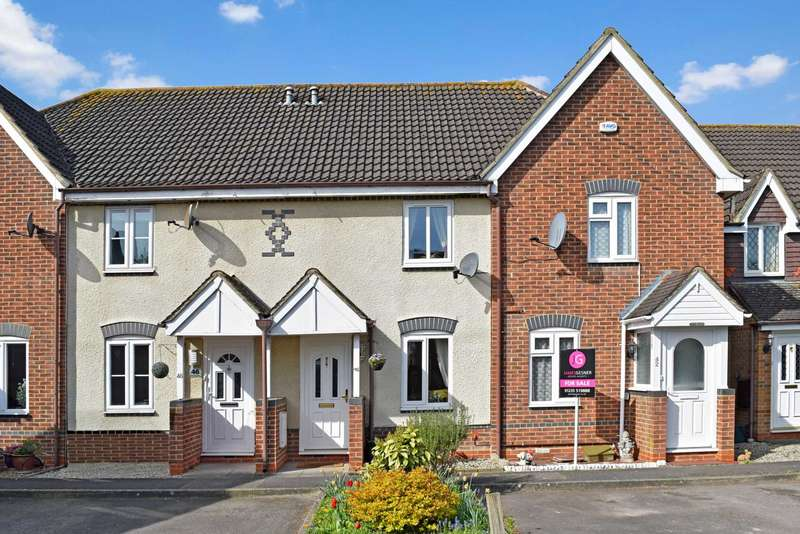 2 Bedrooms Terraced House for sale in Orwell Drive, Didcot