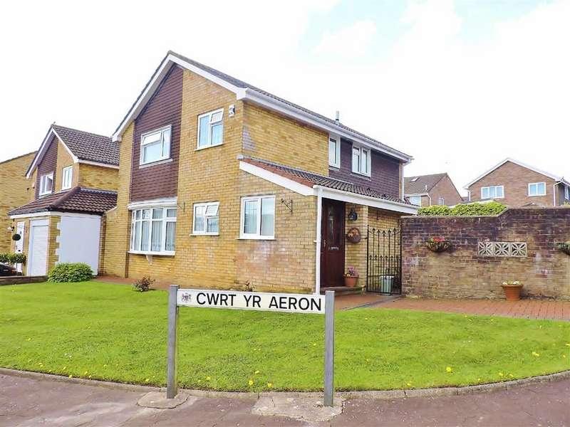 4 Bedrooms Property for sale in Cwrt Yr Aeron, Parc Gwernfadog, Cwmrhydyceirw