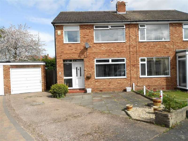3 Bedrooms Semi Detached House for sale in Arundel Close, Wistaston, Crewe, Cheshire