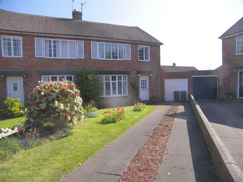 3 Bedrooms Semi Detached House for sale in Barrington Avenue, Marden Farm, NE30