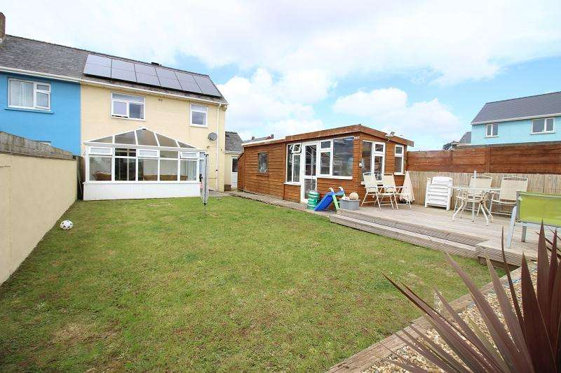 2 Bedrooms Semi Detached House for sale in Stranraer Lane, Pennar, Pembroke Dock, Pembrokeshire. SA72 6SA