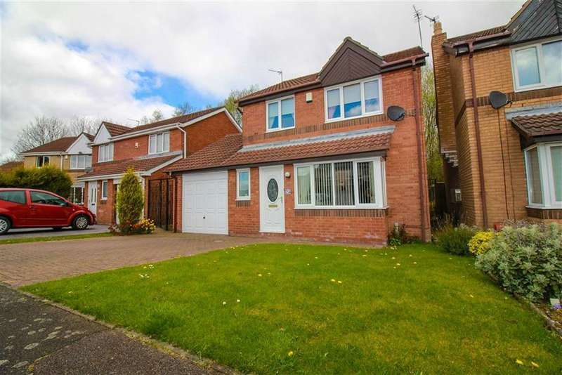 3 Bedrooms Detached House for sale in Oulton Close, Newcastle Upon Tyne, NE5