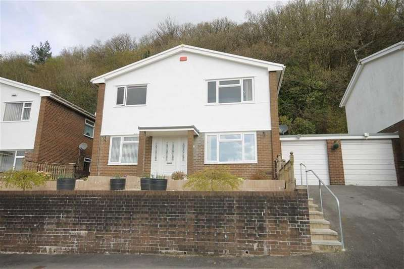 4 Bedrooms Link Detached House for sale in Ashgrove, Edwardsville, Treharris, CF46