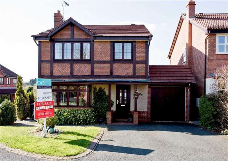 4 Bedrooms Detached House for sale in 39, Penleigh Gardens, Wombourne, Wolverhampton, South Staffordshire, WV5
