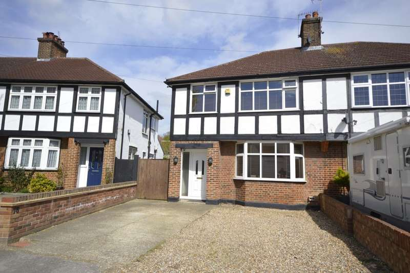 3 Bedrooms Semi Detached House for sale in Purbrock Avenue, Watford, WD25