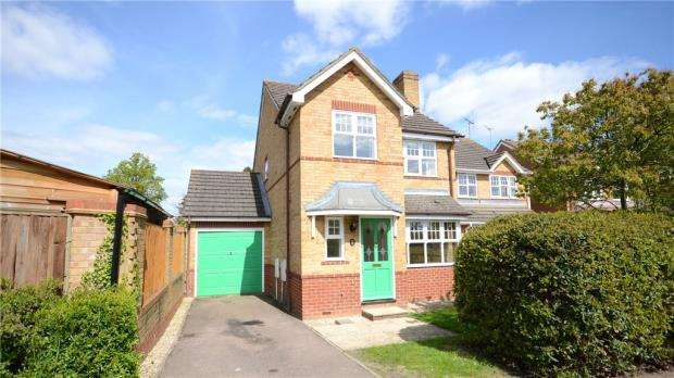 3 Bedrooms Link Detached House for sale in Century Drive, Spencers Wood, Reading
