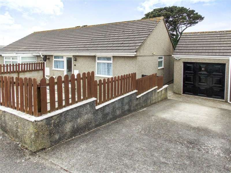 2 Bedrooms Semi Detached Bungalow for sale in Penhale Estate, Redruth