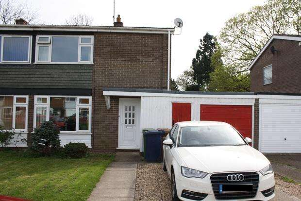 3 Bedrooms Semi Detached House for sale in Elwyn Court, March, PE15
