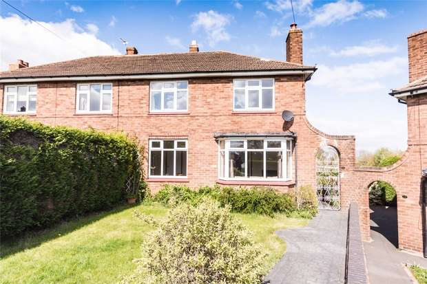 3 Bedrooms Semi Detached House for sale in Churchill Road, Shenstone, Staffordshire