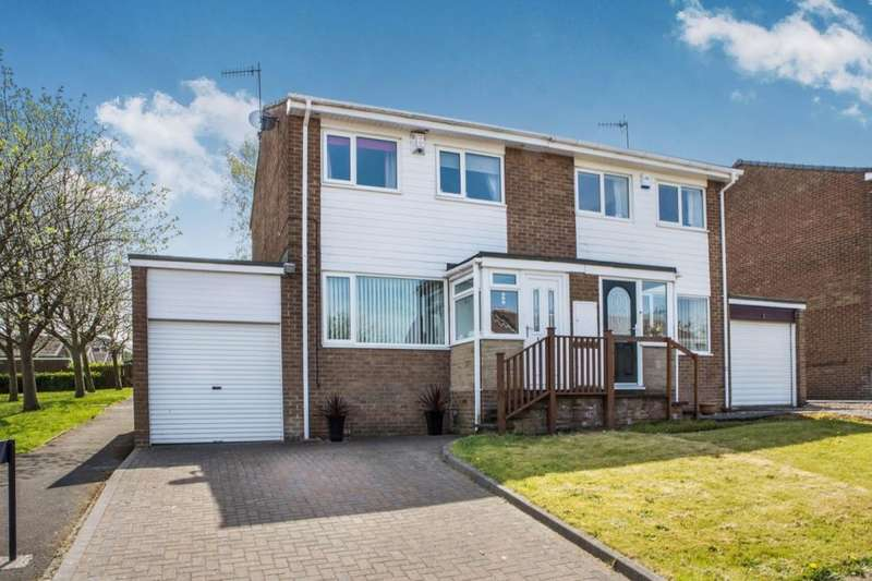 3 Bedrooms Semi Detached House for sale in Rosedale Road, Crawcrook, Ryton, NE40
