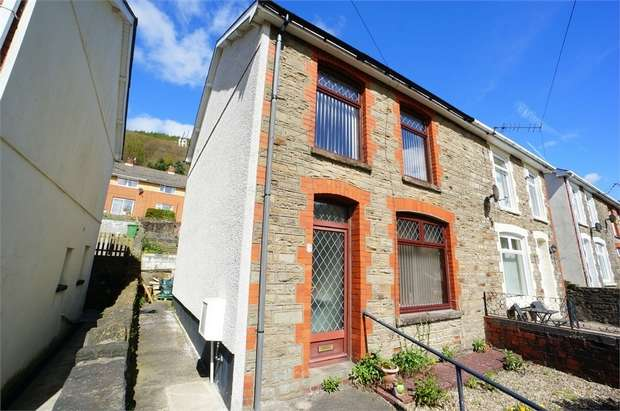 2 Bedrooms Semi Detached House for sale in Park Street, Cwmcarn, NEWPORT, Caerphilly
