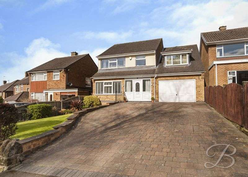 4 Bedrooms Detached House for sale in Summercourt Drive, Ravenshead