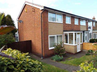 3 Bedrooms End Of Terrace House for sale in Harwood Vale, Harwood, Bolton, Greater Manchester, BL2
