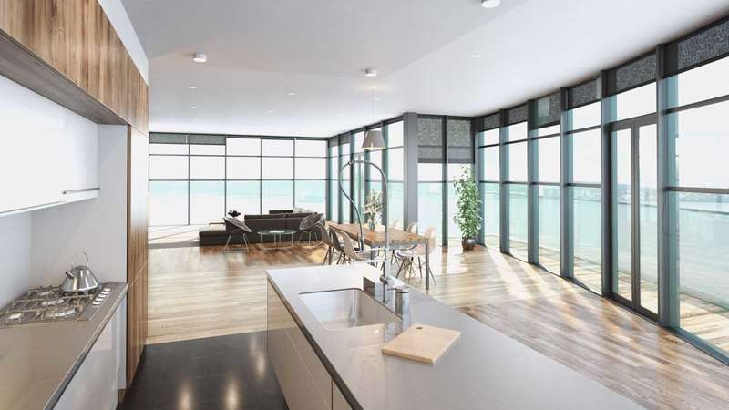 3 Bedrooms Apartment Flat for sale in Herculaneum Quay Riverside Drive, Liverpool, L3 4DJ