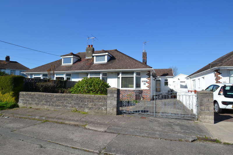 2 Bedrooms Semi Detached Bungalow for sale in 149 Newton Nottage Road, Porthcawl, Bridgend County Borough, CF36 5EA.